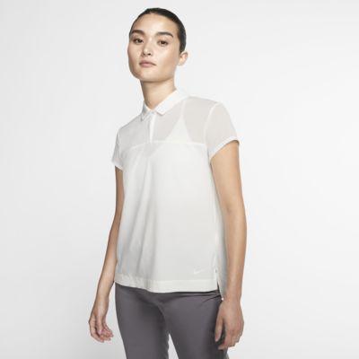Женская рубашка-поло для гольфа Nike Flex