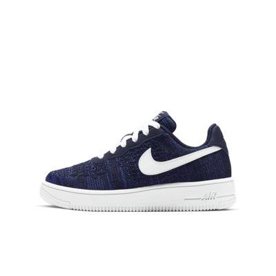 Кроссовки для дошкольников/школьников Nike Air Force 1 Flyknit 2.0