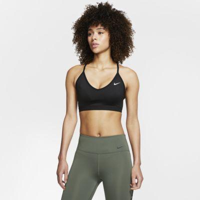 Sutiã de desporto de suporte ligeiro Nike Indy para mulher
