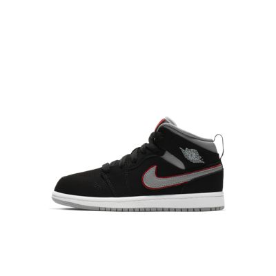 Calzado para niños de talla pequeña Air Jordan 1 Mid
