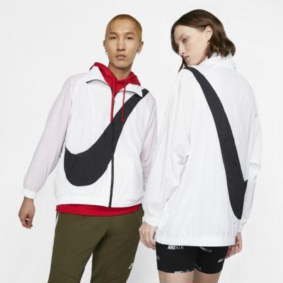 Giacca in woven con Swoosh Nike Sportswear