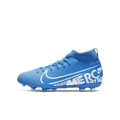 รองเท้าสตั๊ดฟุตบอลเด็กเล็ก/โตสำหรับพื้นหลายประเภท Nike Jr. Mercurial Superfly 7 Club MG