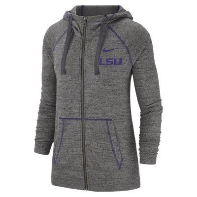 Nike College Gym Vintage (LSU) Women's Full-Zip Hoodie