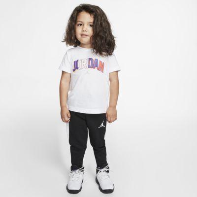 Ensemble deux pièces tee-shirt et pantalon de jogging Jordan pour Petit enfant