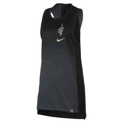Haut de NBA sans manches Cleveland Cavaliers Nike pour Femme