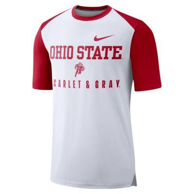Nike College Breathe (Ohio State) Men's Top
