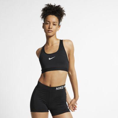 Nike Classic Padded sports-BH med middels støtte til dame