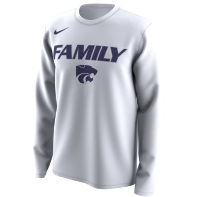 "Nike College Dri-FIT Legend ""Family"" (Kansas State) Men's Long-Sleeve T-Shirt"