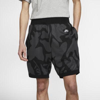 Mönstrade skateboardshorts Nike SB Dri-FIT för män