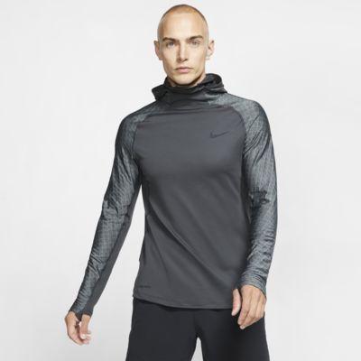 Felpa da training a manica lunga con cappuccio Nike Pro Therma - Uomo