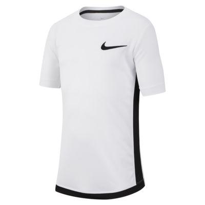 Nike Dri-FIT 大童(男孩)短袖训练上衣