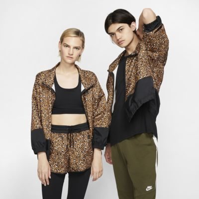 Nike Sportswear Animal Print Woven Jacket
