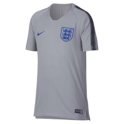 Fotbalový top England Breathe Squad pro větší děti