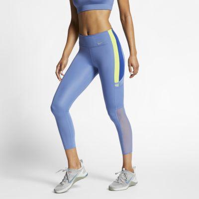 Женские слегка укороченные тайтсы Nike One Luxe