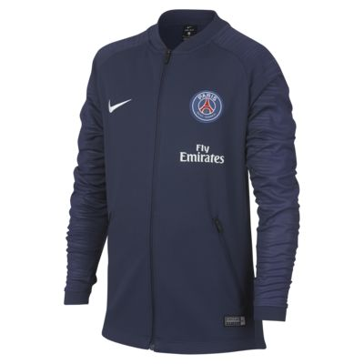 Paris Saint-Germain Anthem Older Kids' Football Jacket