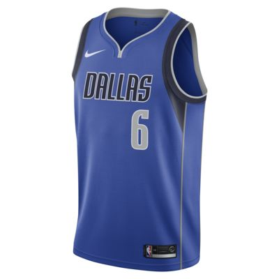 Kristaps Porziņģis Mavericks Icon Edition Men's Nike NBA Swingman Jersey