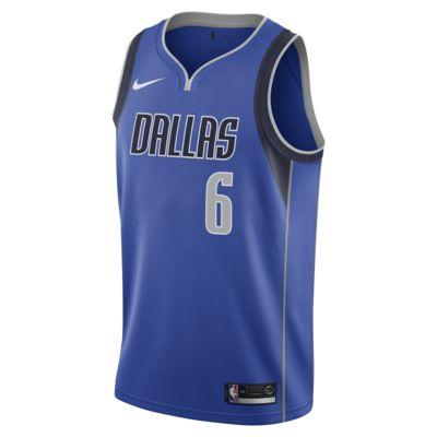 Maglia Kristaps Porzingis Kristaps Porzingis Icon Edition Swingman (Dallas Mavericks) Nike NBA Connected - Uomo