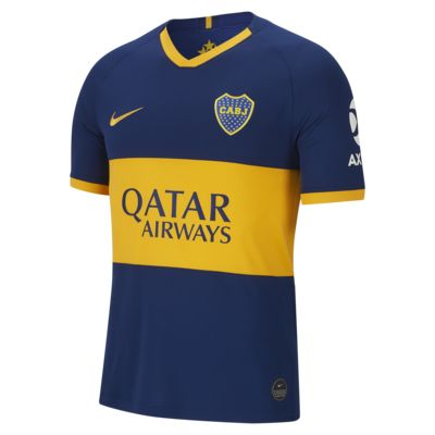 Boca Juniors 2019/20 Stadium Home Men's Football Shirt