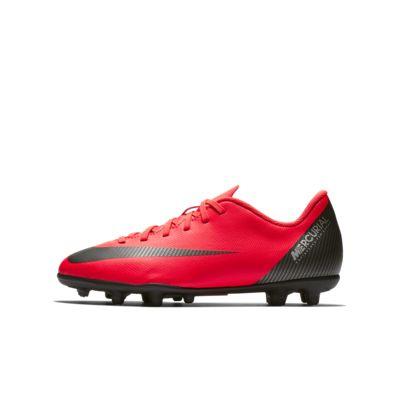 Nike Jr. Mercurial Vapor XII Club CR7 MG 小/大童多種場地足球釘鞋