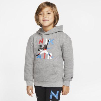 Felpa pullover con cappuccio Air Jordan - Bambini