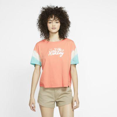 Hurley Jonesy Dip Dye Flouncy Women's T-Shirt