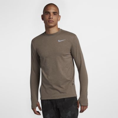 Top de running de manga larga para hombre Nike Sphere Element 2.0