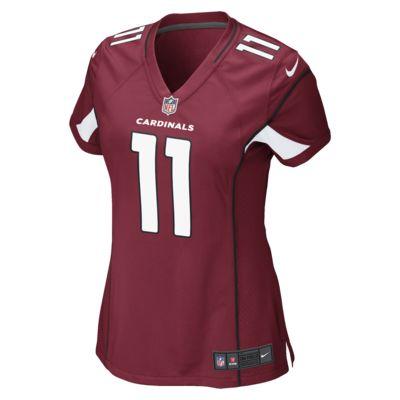 NFL Arizona Cardinals (Larry Fitzgerald) Women's Game Football Jersey