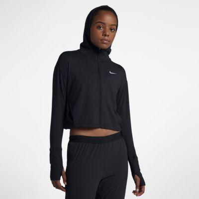 Damska bluza do biegania z kapturem i zamkiem na całej długości Nike