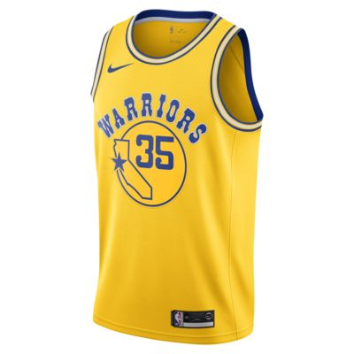 Kevin Durant Classic Edition Swingman (Golden State Warriors) Men's Nike NBA Connected Jersey