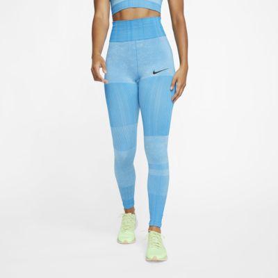 Tights da training in maglia Nike City Ready - Donna