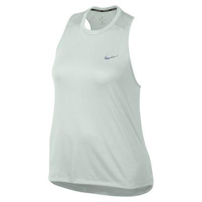 Nike Miler (plusstørrelse) – løbetanktop til kvinder