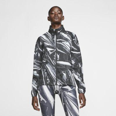 Женская беговая куртка с молнией во всю длину Nike Shield