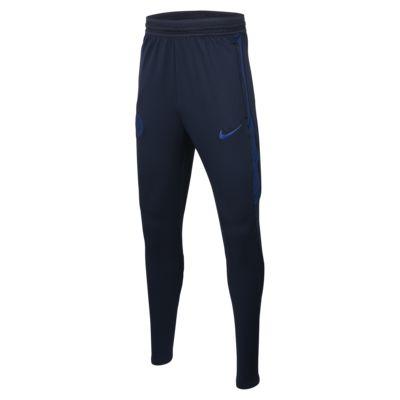 Pantalones de fútbol para niños Nike Dri-FIT Chelsea FC Strike