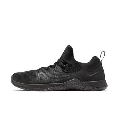 Купить Мужские кроссовки для кросс-тренинга и тяжелой атлетики Nike Metcon Flyknit 3, Черный/Черный/Черный, 23378359, 12647699