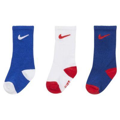 Nike Toddler Crew Socks (3-Pack)