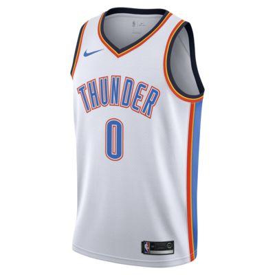 Camiseta Nike NBA Swingman Russell Westbrook Thunder Association Edition