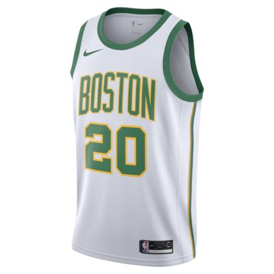 Maillot connecté Nike NBA Gordon Hayward City Edition Swingman (Boston Celtics) pour Homme