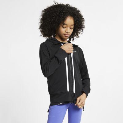 เสื้อมีฮู้ดซิปยาวเด็กโต Nike Sportswear (หญิง)