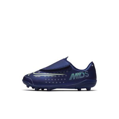 รองเท้าสตั๊ดฟุตบอลเด็กเล็กสำหรับพื้นหลายประเภท Nike Jr. Mercurial Vapor 13 Club MDS MG