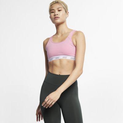 Sujetador deportivo de sujeción media para mujer Nike Classic Soft
