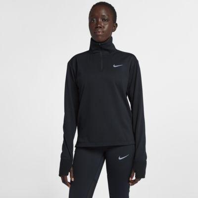 Nike Therma Sphere Camiseta de running con media cremallera - Mujer
