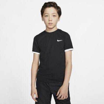 NikeCourt Dri-FIT Older Kids' (Boys') Short-Sleeve Tennis Top