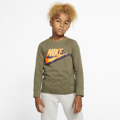 Nike Sportswear Younger Kids' Long-Sleeve T-Shirt