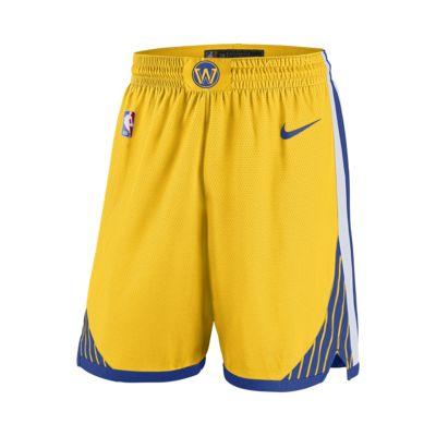 Short NBA Golden State Warriors Nike Statement Edition Swingman pour Homme