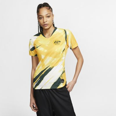 Γυναικεία ποδοσφαιρική φανέλα Australia 2019 Stadium Home