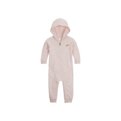 Nike Sportswear Overall mit Kapuze und durchgehendem Reißverschluss für Babys (0–9 M)