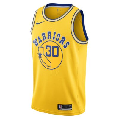 Stephen Curry Classic Edition Swingman (Golden State Warriors) Men's Nike NBA Connected Jersey
