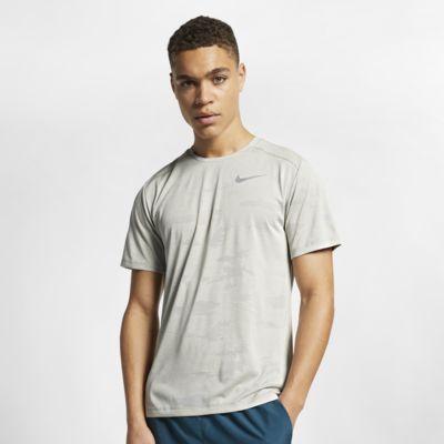 Męska koszulka z krótkim rękawem do biegania Nike TechKnit