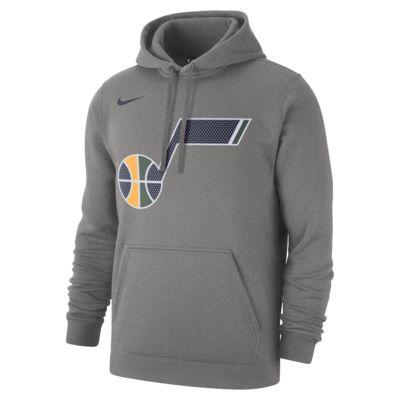 Utah Jazz Nike – NBA-hættetrøje til mænd