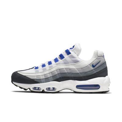 Мужские кроссовки Nike Air Max 95 SC, Белый/Антрацитовый/Темно-серый/Синий, 23558324, 12684414  - купить со скидкой